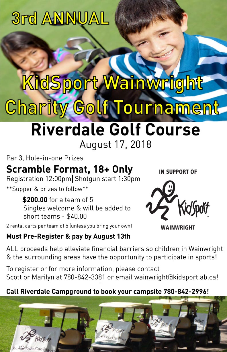 KidSport Wainwright 2018 Golf Tournament Poster.jpg